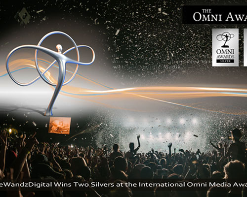 eWandzDigital Wins Two Silvers at the International Omni Media Awards