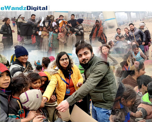 eWandzDigital Carried Out CSR Drive